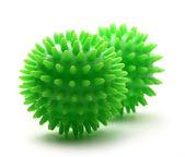 Two massage balls — Stock Photo