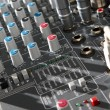 Audio mixer equipment — Stock Photo