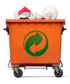 Garbage bin — Stock Photo
