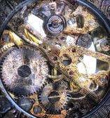 Clockwork inside — Stock Photo