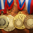 Metal medals — Stock Photo #38082651
