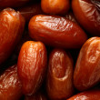 Background of fresh dates — Stock Photo
