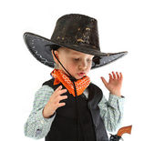 Cowboy child — Stock Photo