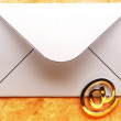 Email sign on envelope — Stock Photo #40275981