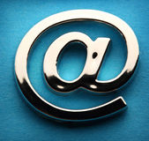 Email international sign — Stock Photo