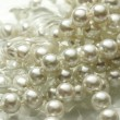 Stock Photo: White pearl