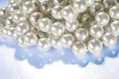 White pearls — Stock Photo