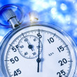 Stopwatch in blue toning — Stock Photo #44139685