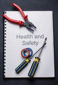 Pliers and screwdrivers — Stock Photo