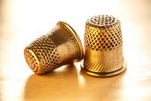 Sewing thimbles — Foto Stock