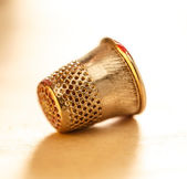 Sewing thimble — Stock Photo