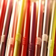 Colorful cocktail straws — Stock Photo #50926831