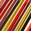 Colorful cocktail straws — Stock Photo #50926749
