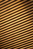 Closed metal jalousie background — Stock Photo