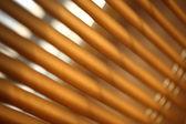 Brown metal jalousie — Stock Photo