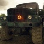 Military truck. — Stock Photo