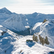 Beautiful Tatra Mountains in winter. - Stock Photo