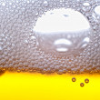 Beer bubbles. - Foto de Stock