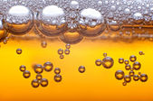 Beer bubbles. — Stock fotografie