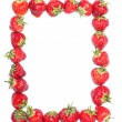 Strawberry frame. — Stock Photo
