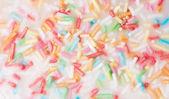 Sprinkle sugar. — Zdjęcie stockowe