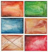 Set of abstract backgrounds — Stock Photo