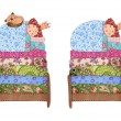 Princess and Pea — Foto de stock #37650633