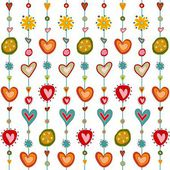 Swedish pattern design — Stock Photo