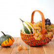 Stock Photo: Decorative pumpkins