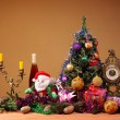 Decorations for Christmas and Easter — Stock Photo
