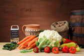 A healthy group of vegetables — Stock Photo