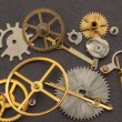 Old parts of hand clock — Stock Photo #48712421