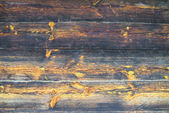 Wooden planks with knots and tree rings — Stock Photo