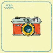 Retro camera. — Stock Vector