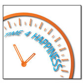 Time 4 happiness — Stock Photo