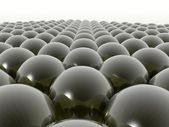 A sea of spheres — Stock Photo