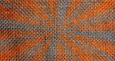 Sunlike orange pattern — Stock Photo