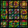 Beautiful church stained glass — Stock Photo