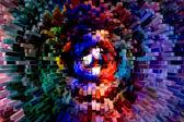 Vivid blocks of colors — ストック写真