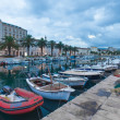 Split harbour — Stock Photo