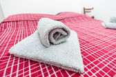 Laminati asciugamano — Foto Stock