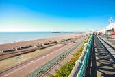 View on Brighton's cost — Stock Photo