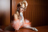 Elegant bride — Stock Photo