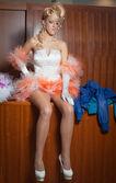 Barbie bride — Stock Photo