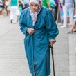 Stock Photo: Old Muslim lady