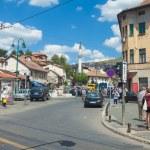 Street in Sarajevo — Stock Photo #14888297