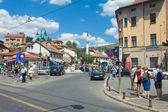 Street in Sarajevo — Stock Photo