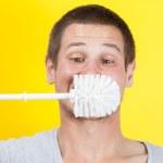Brushing teeth — Stock Photo #16020073