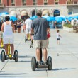 Stock Photo: On Segways on the waterfront in Split