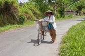 Local rice farmer — Stock Photo